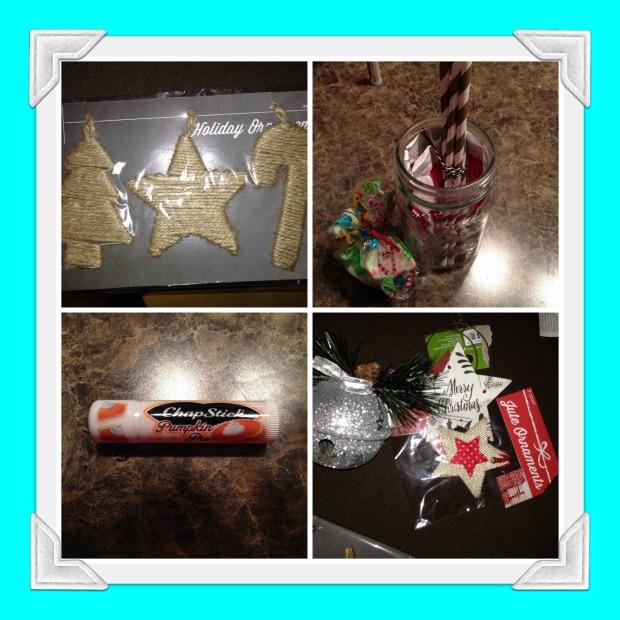 My goodies from Brandi!