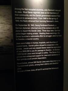 Denmark was one of the only countries to help their Jewish communities escape.